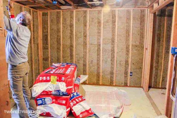 Insulating And Framing A Basement Framing A Basement Home Improvement Insulation