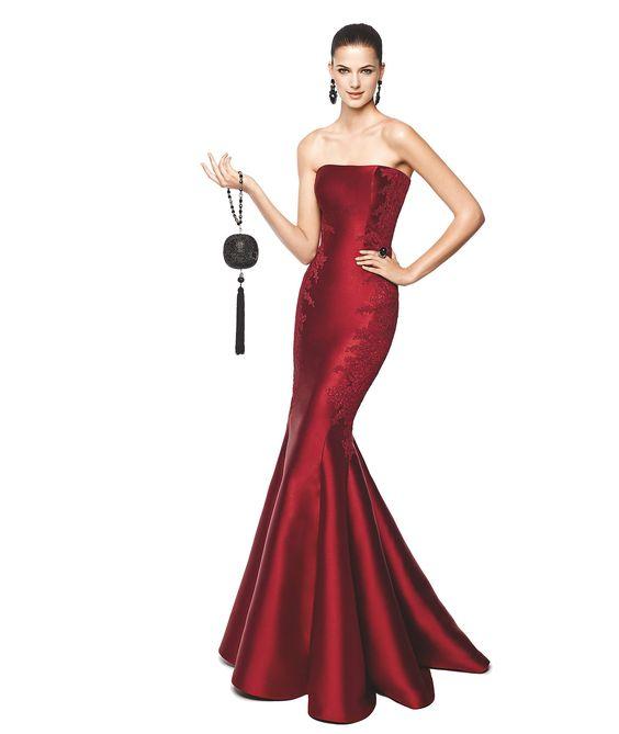 NALA - Vestido de festa corte sereia. Pronovias 2015   Pronovias