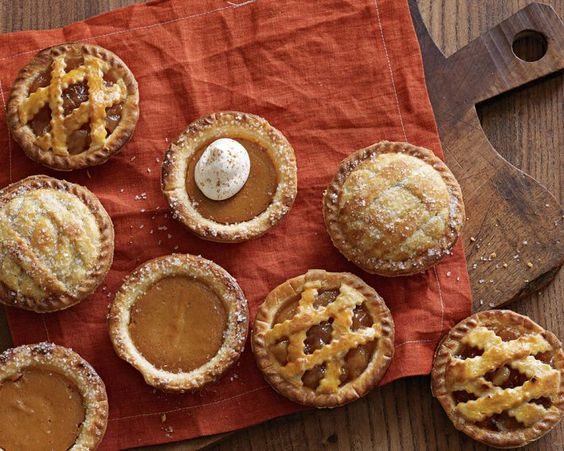 Individual pie for party