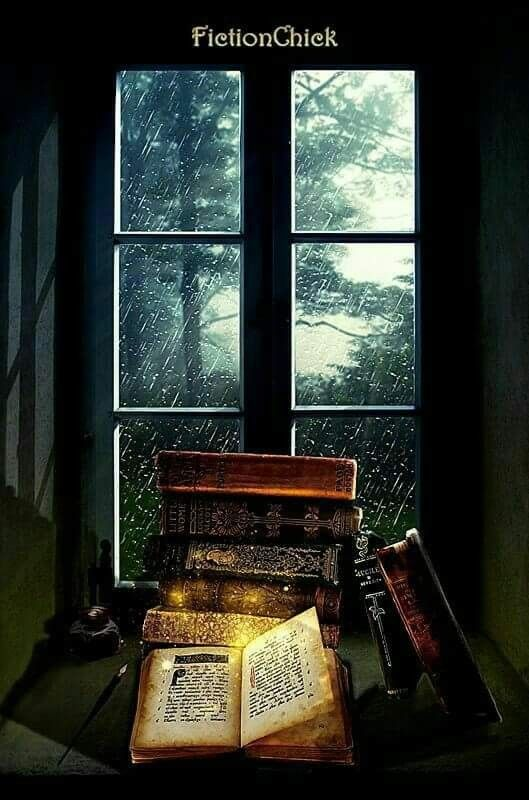 Books and rainy day...❄🌷