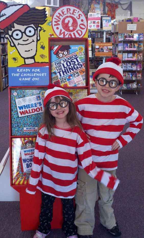 Waldo Kids- Find Waldo in Brenham 2012 Book Nook party page  #findwaldolocal