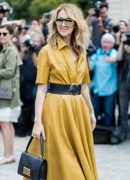 #1. Кожаное платье