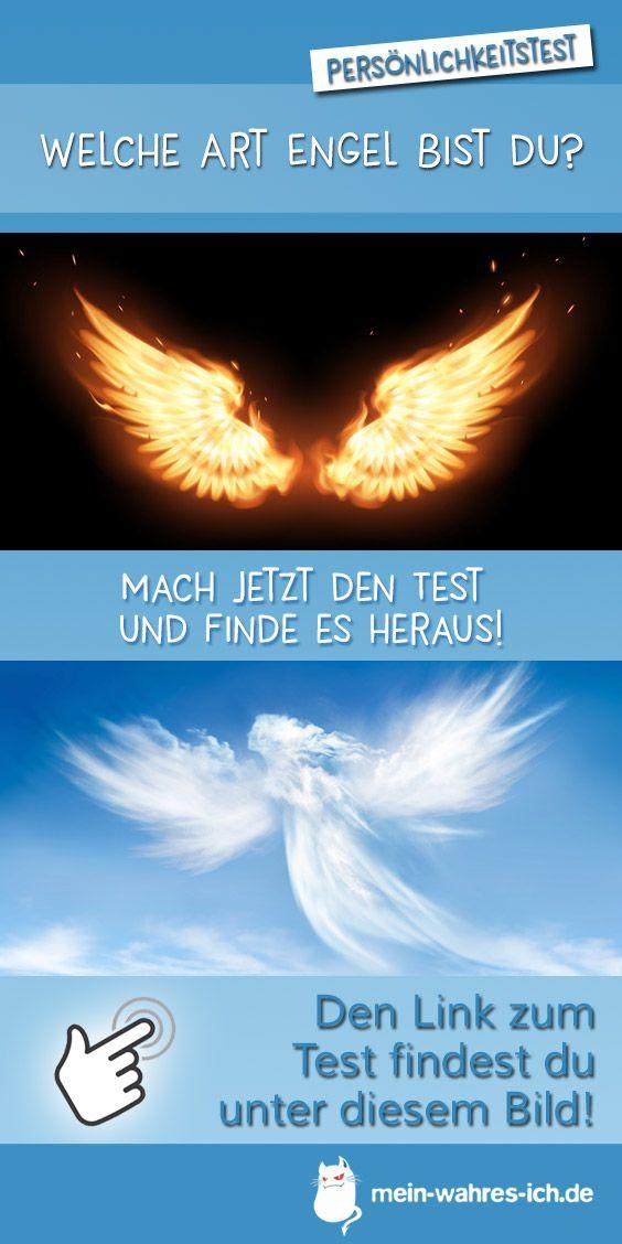 Welche Art Engel Bist Du Engel Spruche Engel Personlichkeitstest