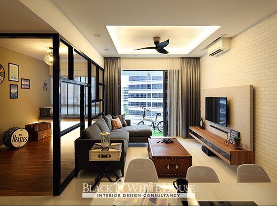 Swank Industrial Home Decor Singapore Home Ideas