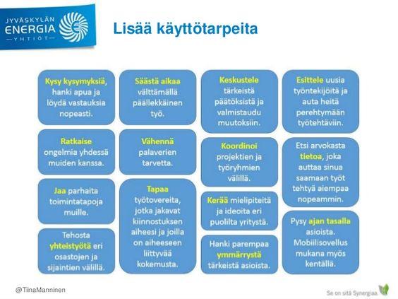Yammer-käyttöönotto ja lanseeraus Jyväskylän Energialla