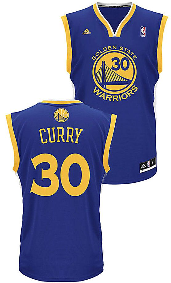 Stephen Curry Youth Golden State Warriors Adidas Embroidered ...