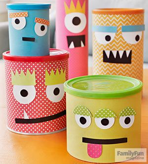 Canned Hams: Conquer clutter with a clan of charming monster containers guaranteed to make you laugh.