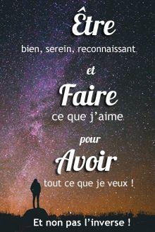 Etre, pour faire, et avoir, et non pas l'inverse ! Retrouvez chaque jour de nouvelles citations de motivation sur www.topitude.fr