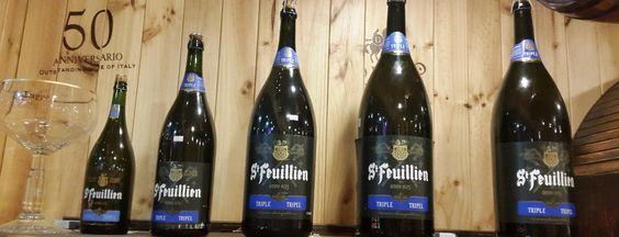 Bia St Feuillien Triple 8,5% - Chai 6000ml