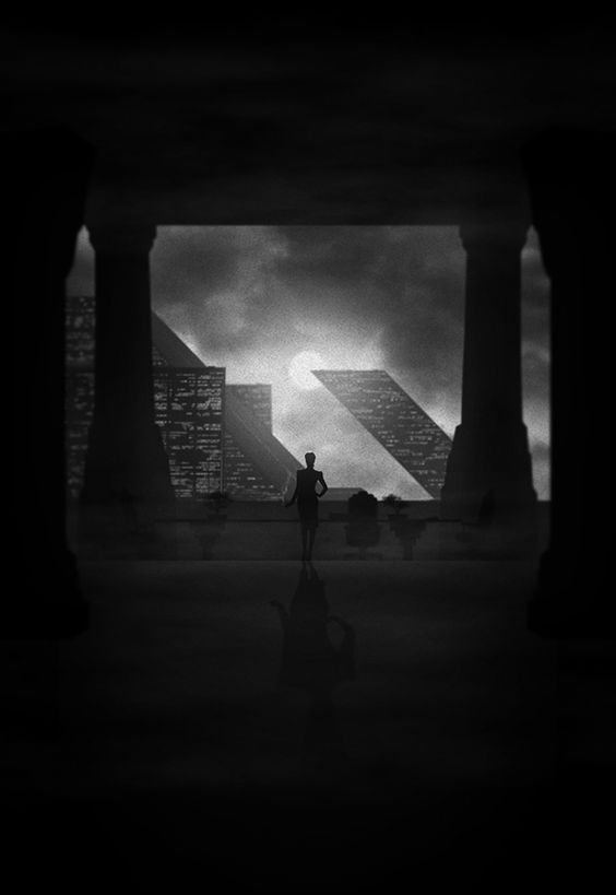 Noir Series Vol. 2 by Marko Manev, via Behance. Blade Runner.