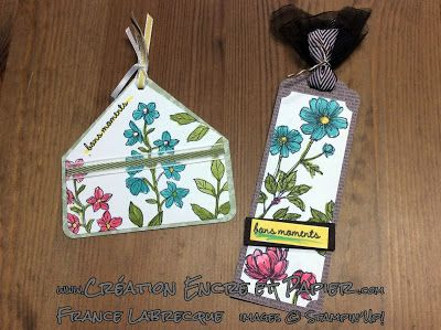 @Stampin'Up! @Signets @Tags @Bookmarks www.creationencreetpapier.com