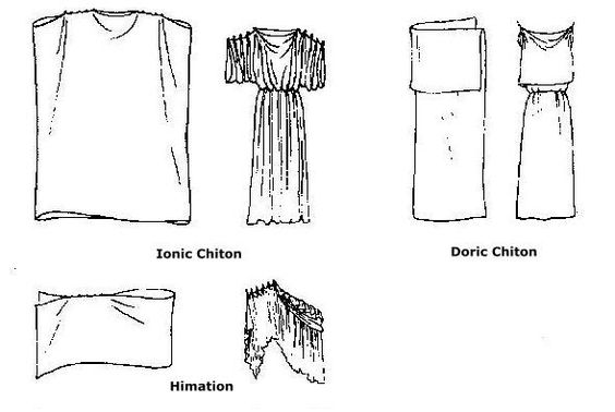 how to make a greek chiton