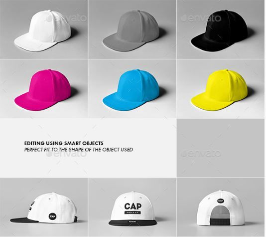 Download 51 Cap Mockup Psd And Hat Templates All Kinds Texty Cafe Hat Template Templates Free Design Mockup Psd