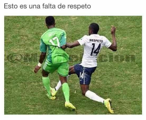 Futbol America El Meme Memes I Started A Joke