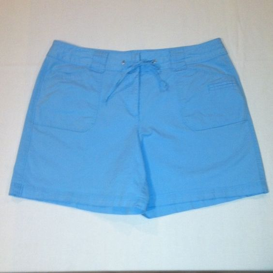 Talbots Powder Blue Shorts These Talbots Powder Blue Shorts have a ...