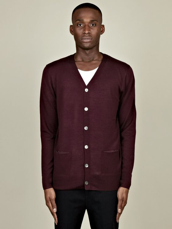 Acne Men's Adam Cardigan.