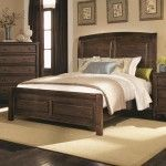 Coaster Furniture - Laughton California King Sleigh Bed In Brown - 203260KW