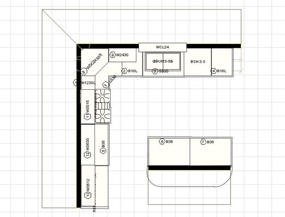 10 X 12 Kitchen Layout 10 X 12 Kitchen Design Ideas For The House Pinterest Islands The