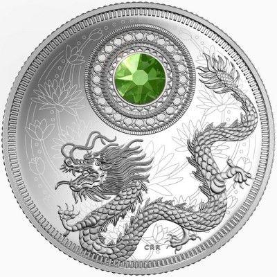 5 Dollar Silber August PP