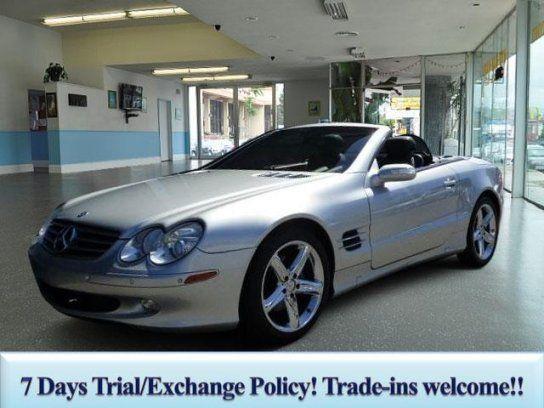 Convertible 2005 Mercedes Benz Sl 500 With 2 Door In Los Angeles Ca 90004