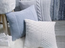 Comment tricoter un coussin retrouvez tous les conseils jardinerie truffa - Comment tricoter un plaid ...