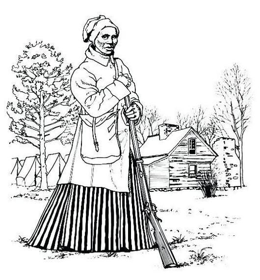 It Offers Brief Biographies Of Harriet Tubman To Learn About The Courageous And Inspiring Life Of Harriet Tubman Coloring Pages Black History Harriet Tubman