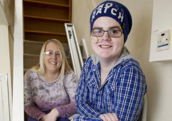 Stairlift gives teenage Crohn's disease sufferer his freedom