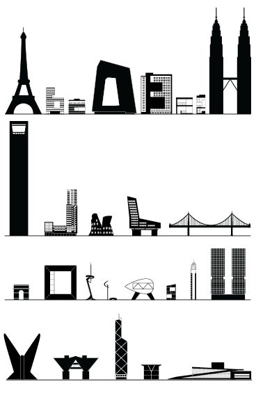 Architecture typography and search on pinterest for Architectural letter photos