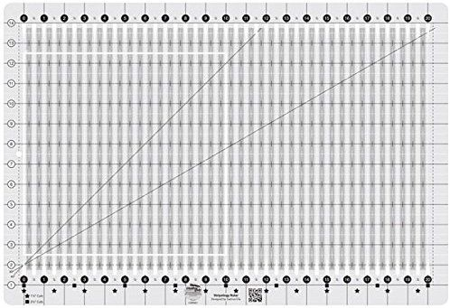 Amazon Com Creative Grids Stripology Slotted Quilting Ruler Template Cgrge1 Plus Quilt Quilting Rulers Quilts