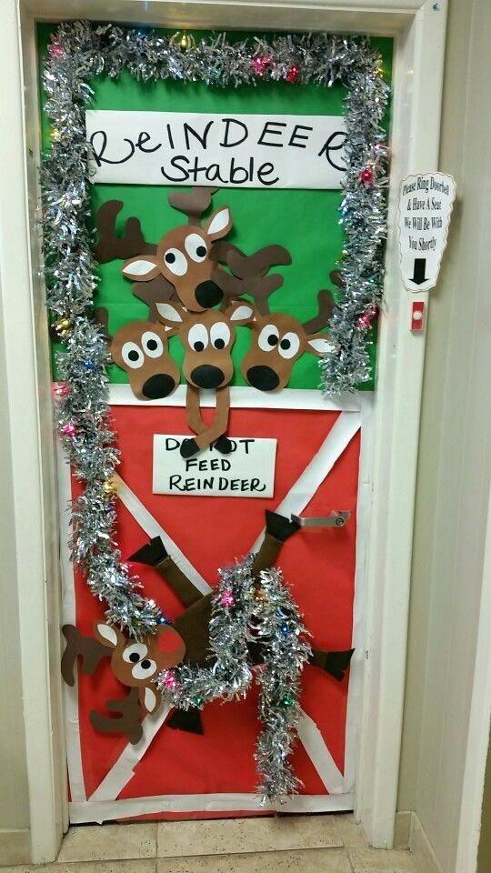 Office Christmas Door Decorations Office Door Decorating Contest