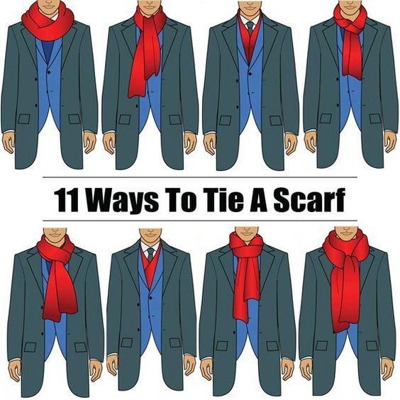 comment nouer une écharpe homme selon manteau