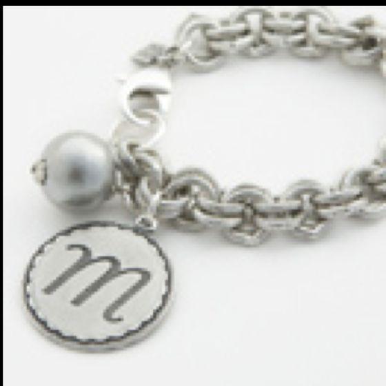 LOVE John Winds Initial Bracelet!