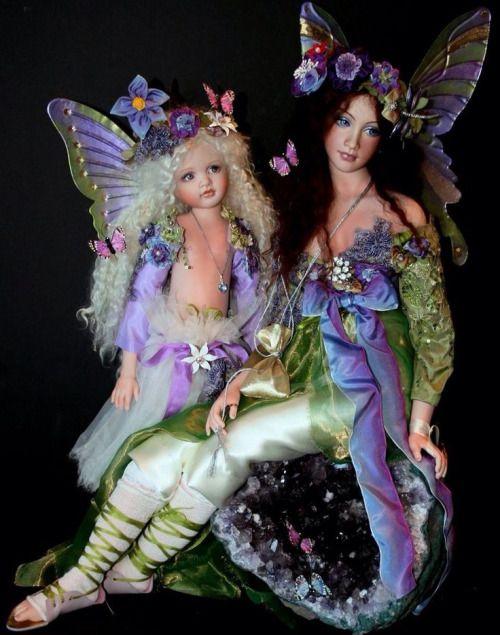 dolls by Loretta Falconi