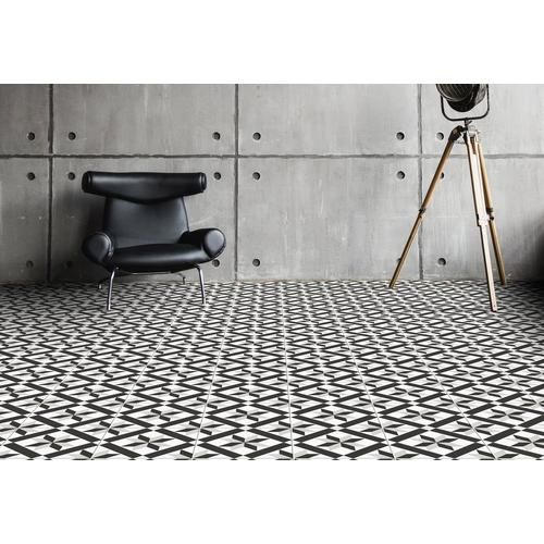 Craft Black And White Matte Porcelain Tile Floor Decor Porcelain Tile Grey Ceramic Tile