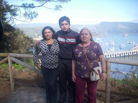 Visita al parque de Lota-Chile