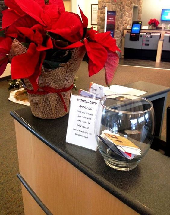The business card raffle at our glen mills branch glen mills the business card raffle at our glen mills branch glen mills branch pinterest glen mills and milling colourmoves