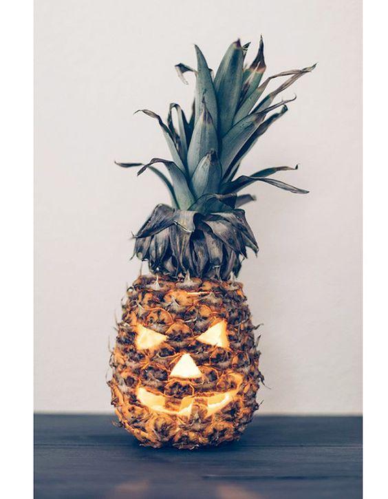 Ananas Jack O' Lantern: