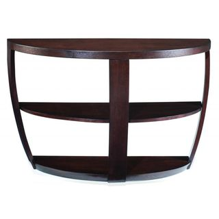 Leather Sofa Sotto Sienna Wood Open Sofa Table Overstock Shopping Great Deals on Magnussen