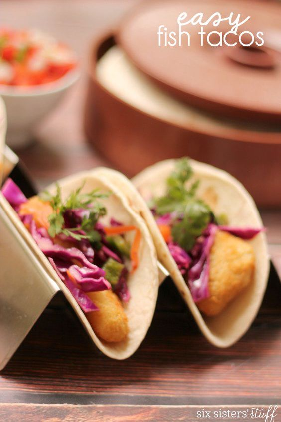 Fast and easy fish taco recipe
