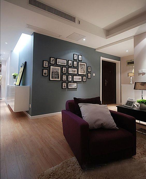 bois cadre photo collages mur en bois multi cadre photo maison mur d 39 affichage dans de sur. Black Bedroom Furniture Sets. Home Design Ideas