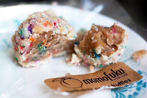 Momofuku Milk Bar birthday cake truffles