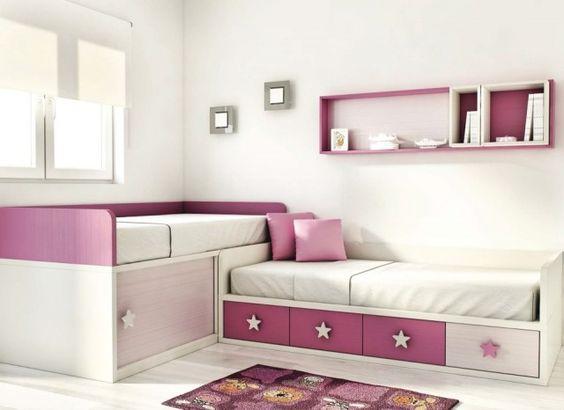 Mueble dormitorio infantil juvenil dos camas palencia - Mueble juvenil ikea ...