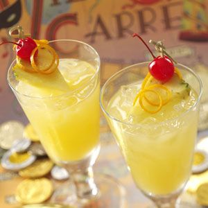 Non-alcoholic Hurricanes for the small fry. #mardigras