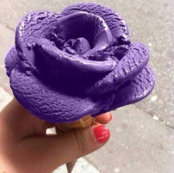 Gorgeous colorful Ice cream cone