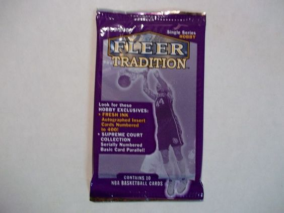 1999-2000 Fleer Tradition Basketball Cards Unopened Pack Hobby NBA Collectibles #NBA