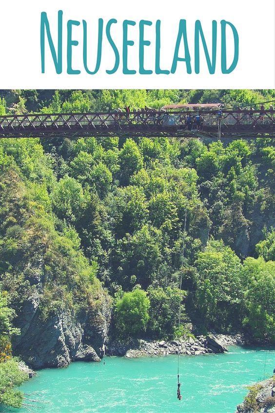 Bungee Jumping in Queenstown. Lies weiter in meinem Reiseblog: Neuseeland - Reisetipps, Routenvorschläge & Sehenswürdigkeiten