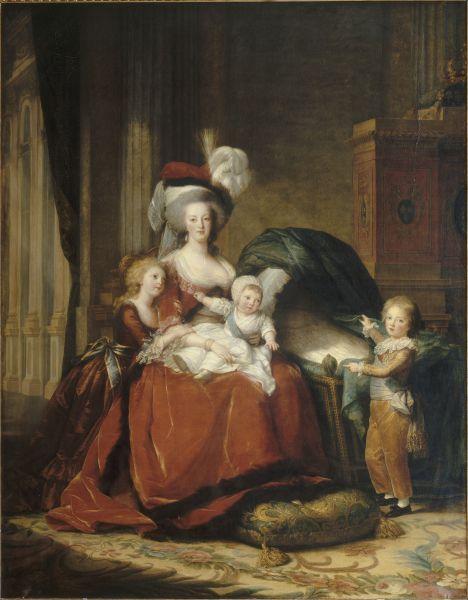 «Marie-Antoinette et ses enfants» (1787), Élisabeth Vigée Le Brun