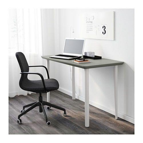 Amliden Torsklint Table Gray Green Light Gray 47 1 4x23 5 8 Ikea Luxury Desk Ikea Furniture