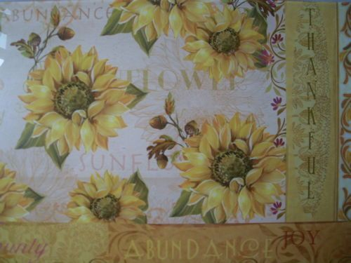 12-x8-Sunflowers-Kitchen-Counter-Art-Tempered-GLASS-CUTTING-BOARD-Multi-color