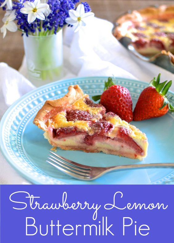 desserts delicious desserts and more buttermilk pie we just love pies ...